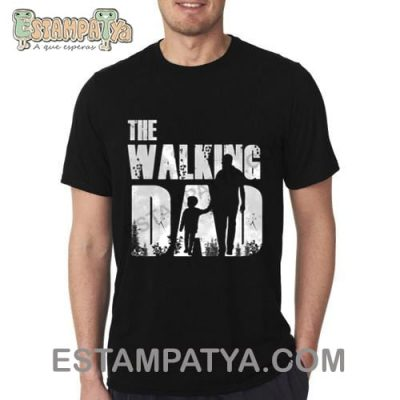 CAMISETA PAPÁ THE WALKING DAD